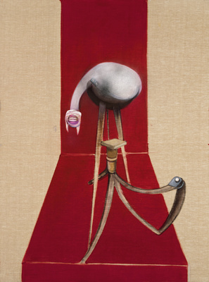 Second Version of Triptych 1944, 1988 (centre panel)  By Francis Bacon