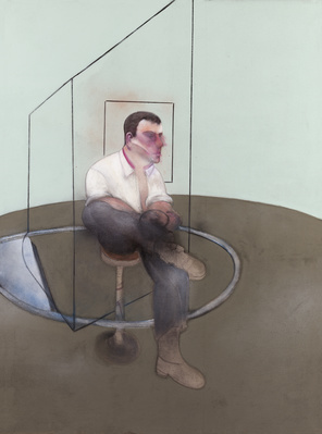 Three Studies for a Portrait of John Edwards, 1984 (left pan... By Francis Bacon
