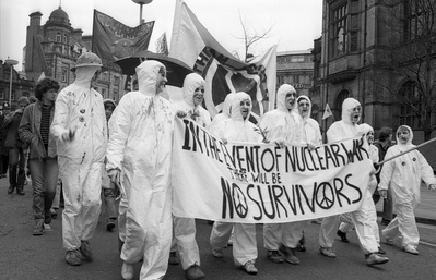 CND march, Sheffield, 10 April 1982