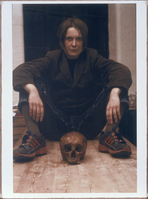 Self Portrait with Skull 1996, 1999
