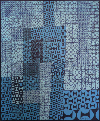 Blue Blue Jazz, 1967 By Anwar Jalal Shemza