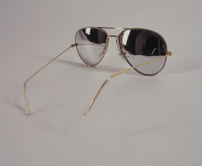 Inside-Out Aviator Glasses, 1994 By Fiona Banner