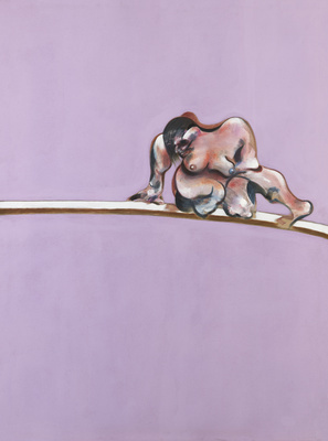 Triptych – Studies of the Human Body, 1970 (right panel) By Francis Bacon