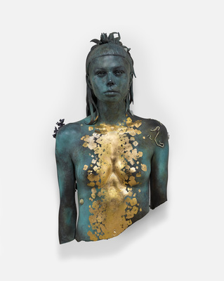 Aspect of Katie Ishtar ¥o-landi By Damien Hirst