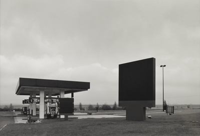 Elf Services, Autoroute A26, Rumacourt, France, 1988