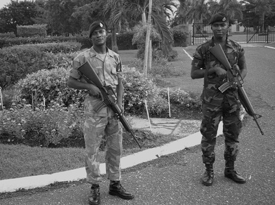Official Gunmen, Kingston, Jamaica, 2008