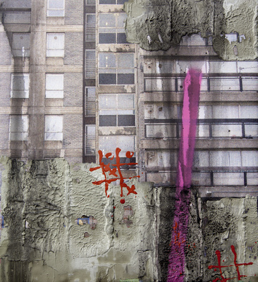 Study for Durrington Towers I, 2005 By David Hepher