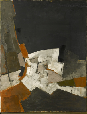 Composition, Black and Grey, 1958