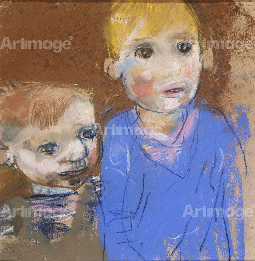 Two Boys (Glasgow Children), c.1960