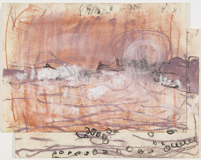Stormy Sea, [Date unknown] By Joan Eardley