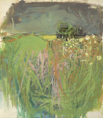 Hedgerow with Grasses and Flowers, 1962-63