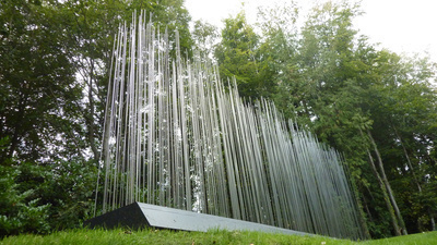 Fields of Rods, 2000 By Vong Phaophanit and Claire Oboussier