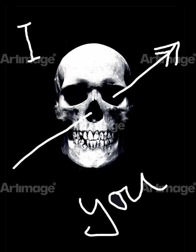Enlarged version of I Skull You, 2006