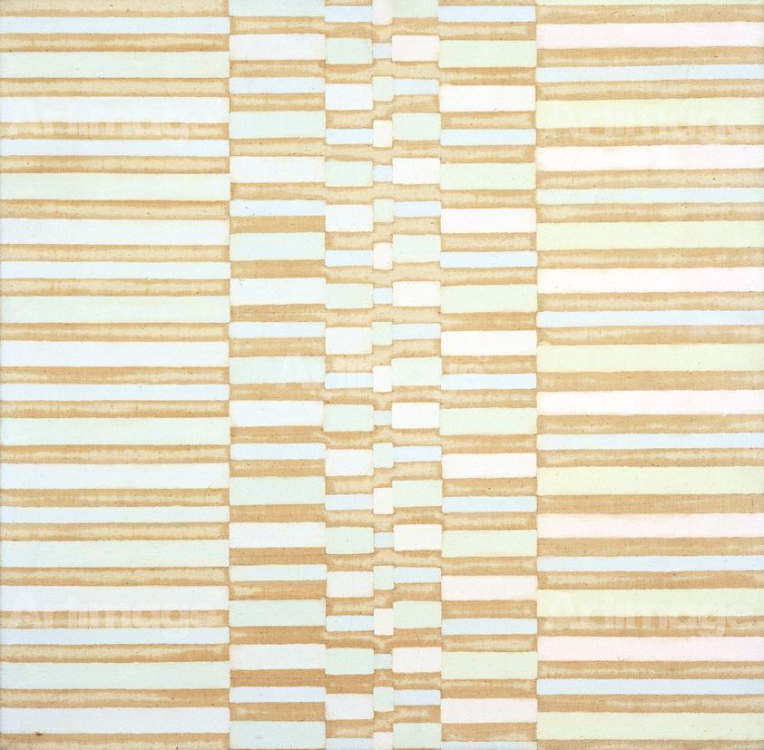 Warm to Cool Striations, 1967