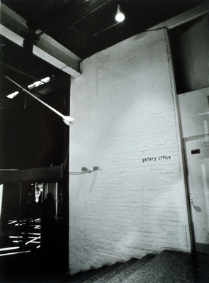 Installation for 'Electric Theatre' exhibition, ICA, 1971