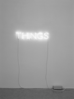 Work No. 285, THINGS, 2002 By Martin Creed