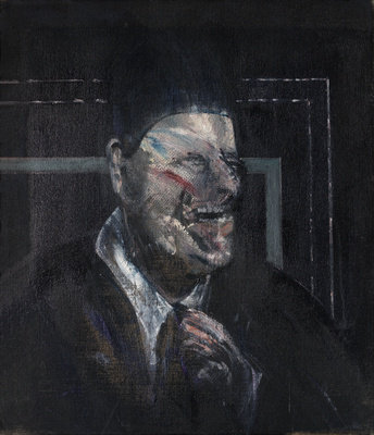 Small Study for Portrait, 1955 By Francis Bacon