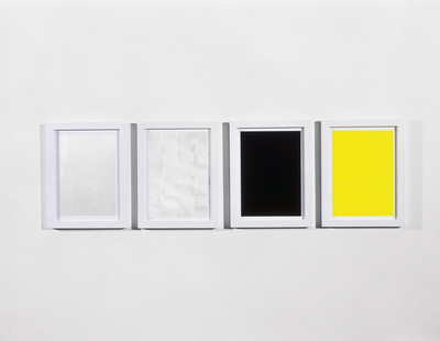Work No. 344, Four drawings, 2004