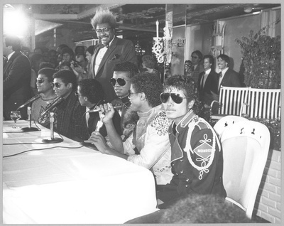 Jackson Family with Don King, 1983