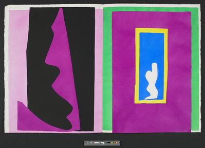 Le Destin [Fate], plate XVI of the 1947 illustrated book 'Ja... By Henri Matisse