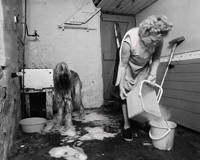 Dogs Hairdressing, Gwen Robinson, Byker, 1981