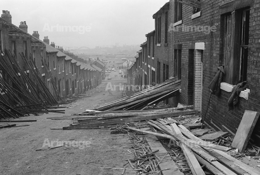 Demolition, Byker, 1975