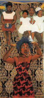 She Ain't Holding Them Up, She's Holding On (Some English Ro... By Sonia Boyce