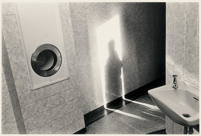 Shadow on Toilet Wall, Asbourne, 1976