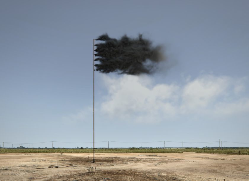 Western Flag (Spindletop, Texas), 2017