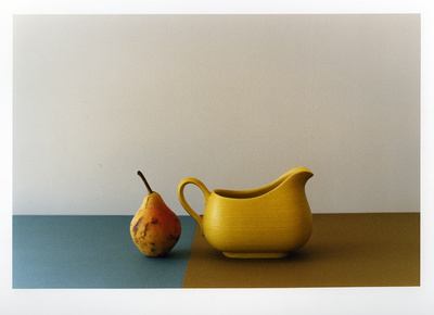 Composition in Yellow & Blue, 2003 By Georgie Hopton