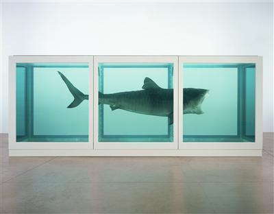 The Physical Impossibility of Death in the Mind of Someone L... By Damien Hirst