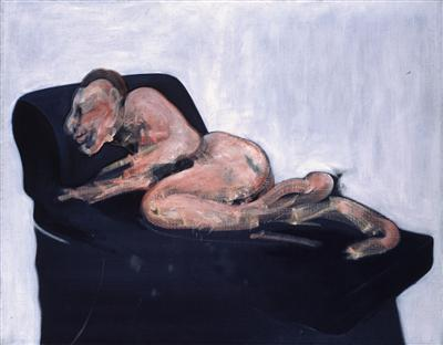 Sleeping Figure, 1959 By Francis Bacon