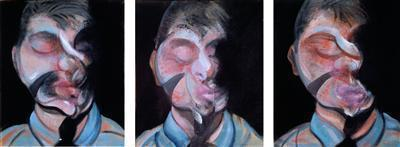 Three Studies for Self-Portrait, 1972 By Francis Bacon