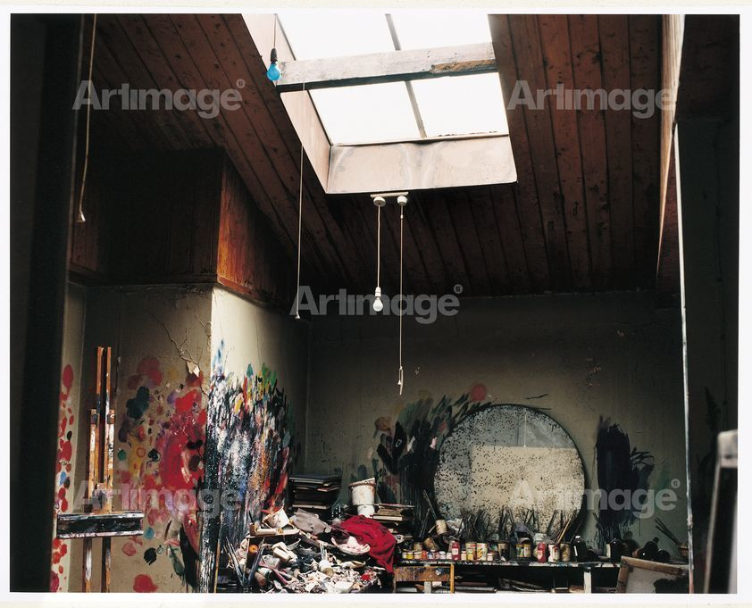 Enlarged version of Francis Bacon's 7 Reece Mews studio, London 1998