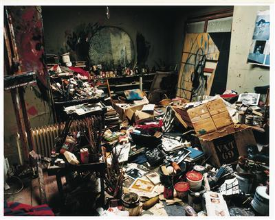 Francis Bacon's 7 Reece Mews studio, London, 1998