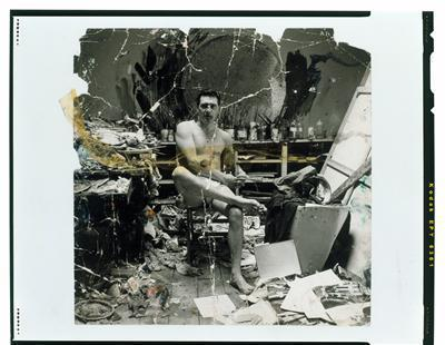 George Dyer Seated in Underwear in Francis Bacon's Studio, c...