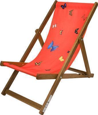 Deckchair (red) 2008