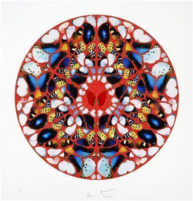 Psalm Print: Domine, ne in furore, 2010  By Damien Hirst