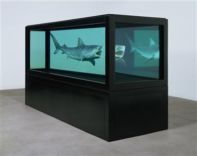 The Kingdom, 2008 (three-quarter view) By Damien Hirst