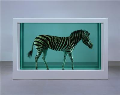 The Incredible Journey, 2008  (side-view)  By Damien Hirst