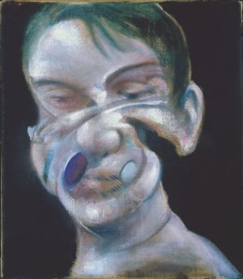 Three Studies for Self-Portrait, 1975 (right panel) By Francis Bacon
