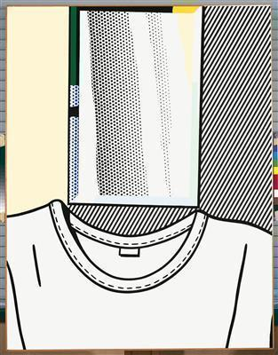 Self-Portrait, 1978 By Roy Lichtenstein