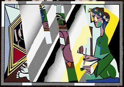 "Reflections on ""Interior with Girl Drawing,"" 1990 By Roy Lichtenstein"