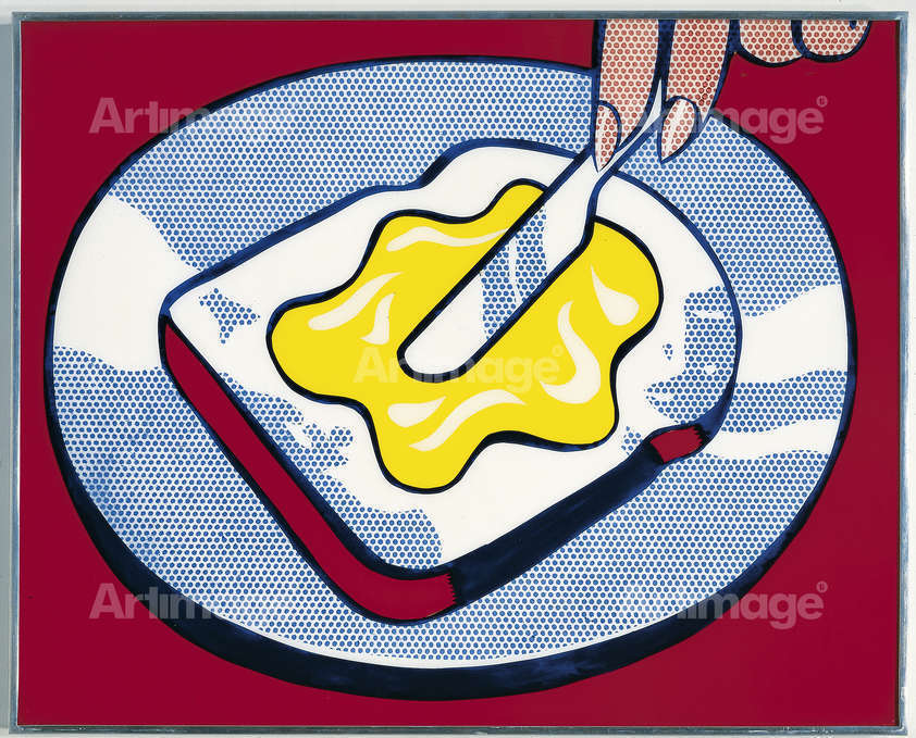 "alt=""Mustard on White, 1963"""
