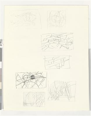 Untitled (Futurist Studies), c. 1975