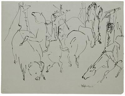 The Last of the Buffalo (Study), 1950