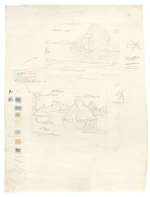 Haystack and Haystacks (Studies), c. 1968