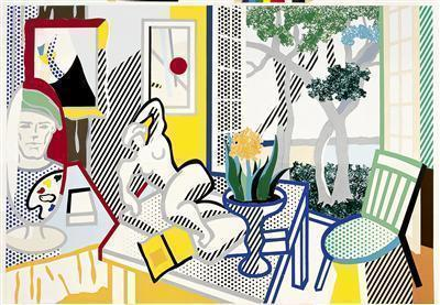 Still Life with Reclining Nude (Study), 1997 By Roy Lichtenstein