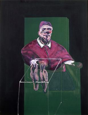 Pope No. 3, 1960 By Francis Bacon