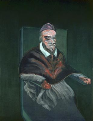 Study from Portrait of Innocent X by Velázquez, 1959